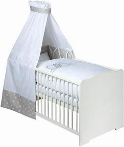 Baby Bettwäsche Set Mit Himmel : disney baby 7 tlg komplettbett babybett matratze himmelstange himmel nestchen bettw sche ~ Frokenaadalensverden.com Haus und Dekorationen