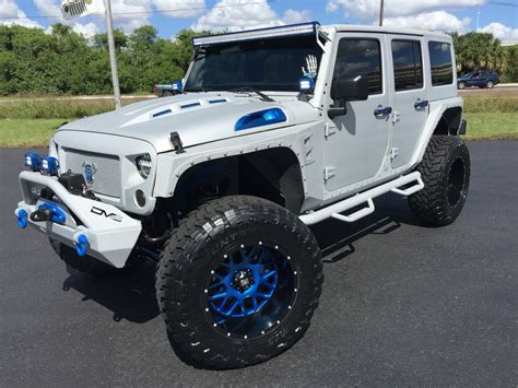 2016 Jeep Wrangler Unlimited Overkill Custom Lifted