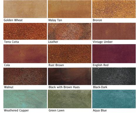 rustic stain colors concrete staining etched concrete fort worth stained