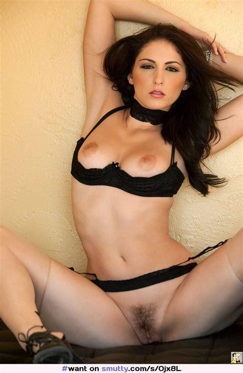 Carlotta Carlottachampagne Sexy Hot Brunette Spread Want
