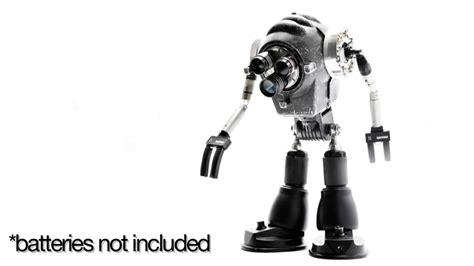 awesome robot art  built  broken toys