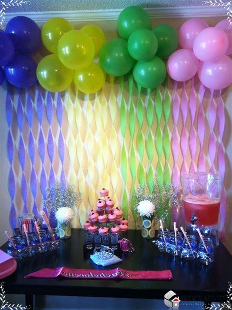 Homemade Party Decoration Homemade Party Decorations