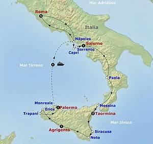 Sur De Italia Mapa My blog
