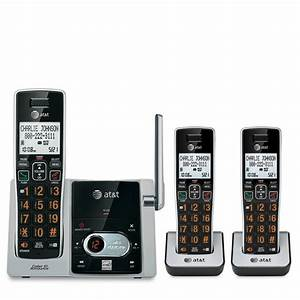 At T Cl82313 Dect 6 0 Expandable Cordless Phone System
