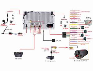 Joying Head Unit Connection Diagram Of Power Cord And Av
