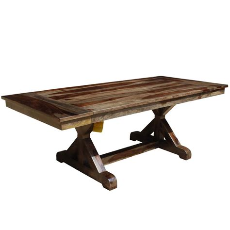 antwerp  base solid wood rustic extendable farmhouse