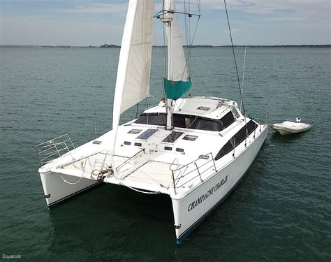 Used Catamaran Hull For Sale by Used Perry 43 Catamaran For Sale Yachts For Sale Yachthub