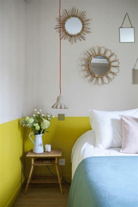 comment peindre une chambre en deux couleurs conseil pour peindre une chambre en deux couleurs