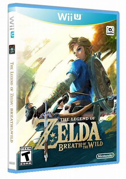 Breath Wild Zelda Legend Box 3d Games