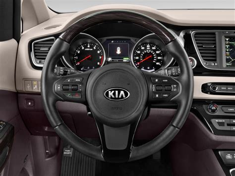 image  kia sedona  fwd steering wheel size