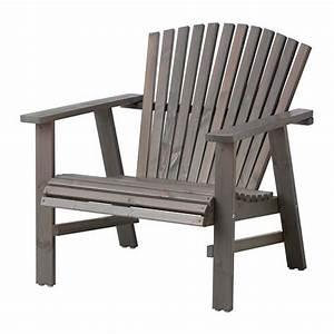 Chaise En Bois Ikea : chaise de jardin style adirondack version ikea ~ Teatrodelosmanantiales.com Idées de Décoration