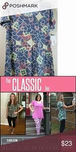 Lularoe Classic Tee S 40 Off See Size Chart Lularoe Tops
