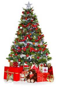 christmas tree and presents isolated on white photograph by richard thomas