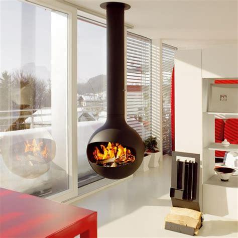 der fireplace kaminofen h 228 ngend der decke praktische und