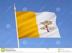 Bandera De La Ciudad Del Vaticano Roma Italia Imagenes