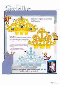Couronne En Papier à Imprimer : activit cendrillon bricolage couronne ~ Melissatoandfro.com Idées de Décoration