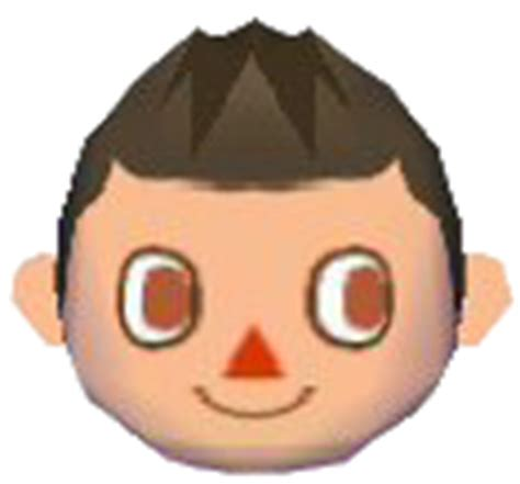 Animal Crossing City Folk Boy Hairstyles by Hair Style Guide Animal Crossing Wiki Fandom Powered