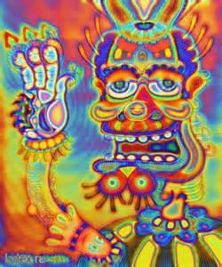 Trippy Acid Psychedelic