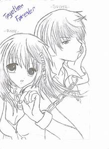 56 Cute Anime Couples Coloring Pages Cute Anime Couples