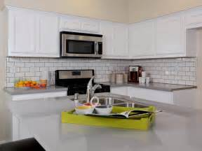 best backsplash for small kitchen stainless steel kitchen cabinets hgtv pictures ideas kitchen ideas design with cabinets