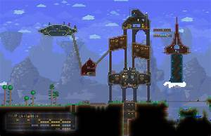 Terraria, Bases, And, Buildings