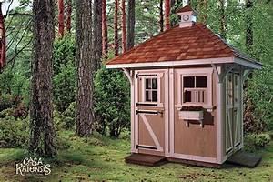 Gartenhaus Hexenhaus Kaufen : casa kaiensis m rchenhafte holzh user ~ Watch28wear.com Haus und Dekorationen
