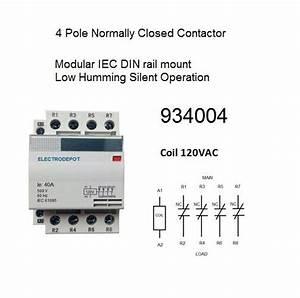 32 No Nc Contactor Wiring Diagram