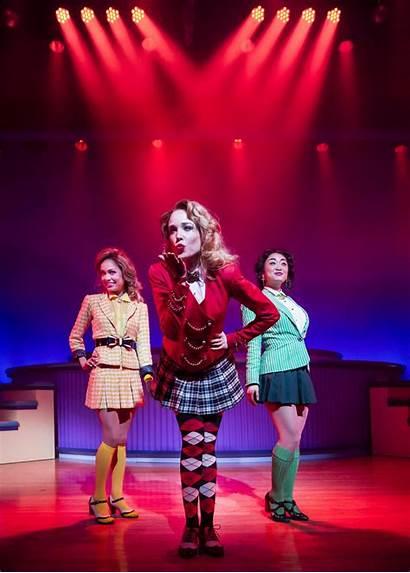Broadway Heathers Musical Heather Theatre Mcnamara Jessica