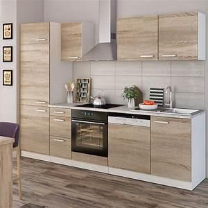 Küchenzeile L Form : vicco k che 270 cm k chenzeile k chenblock real ~ Bigdaddyawards.com Haus und Dekorationen