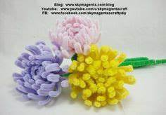 ROSAS HECHAS CON LIMPIA PIPAS PIPE CLEANER ROSES