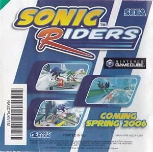 Sonic Rush  2005  Nintendo Ds Box Cover Art