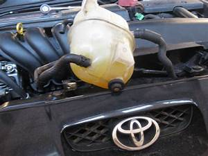 2001 Toyota Celica  Were Do The Three Coolant Resevoir