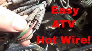 How To Hot Wire An Atv  Start A Stranded Quad Easily