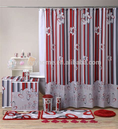 sale bath set custom bathroom set shower curtain with