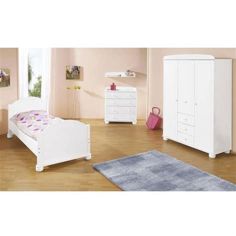 chambre bois blanc chambre enfant bois massif lasuré blanc clara
