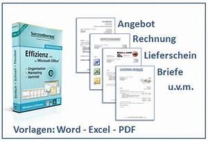 Angebot Rechnung : word vorlage rechnung angebot lieferschein und briefe ~ Themetempest.com Abrechnung