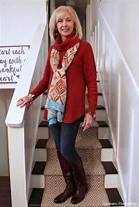 Fashion over 50: Boots and Sweaters - Southern Hospitality
