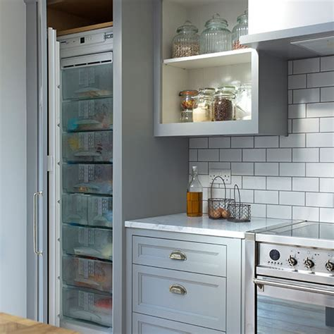 Grey Shakerstyle Kitchen With Metro Tiles  Decorating