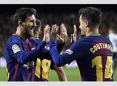 Man Utd News Philippe Coutinho tells Barcelona ace Lionel