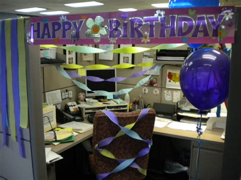 Happy Birthday Cubicle Decorations by Milbrandt Moments Happy Birthday Cubicle Style