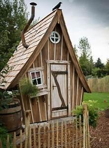 Plan De Cabane En Bois : plan cabane enfant originale jardin pinterest plan ~ Melissatoandfro.com Idées de Décoration