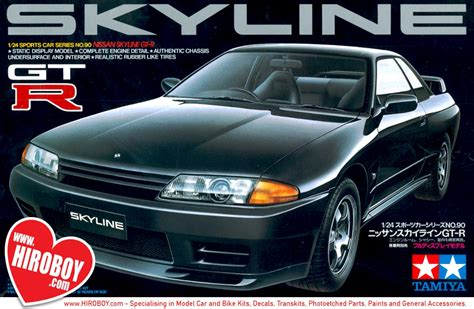 nissan skyline  gt  model kit tam tamiya