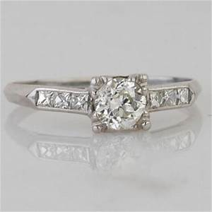 1940s vintage engagement rings With 1940 s style wedding rings