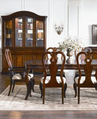 louis philippe style china cabinet furniture macy s