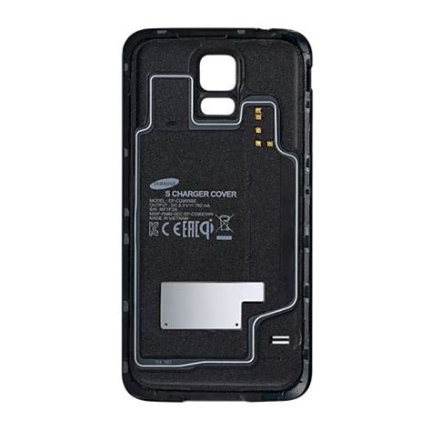 Samsung Lade Led by Samsung Lade Cover Ep Cg900 Schwarz F 252 R Samsung Galaxy S5