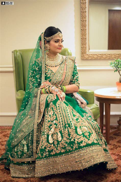 real brides   hues  green   bridal