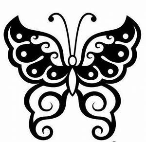 VARIATION OF TATTO: Tribal Butterfly