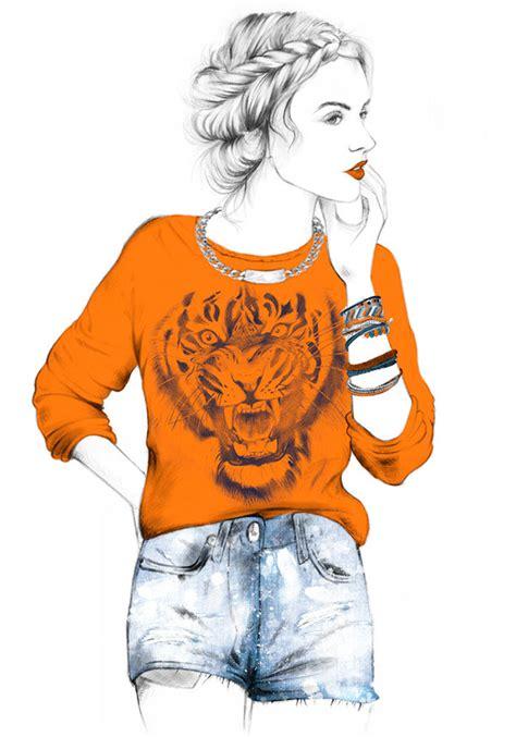 Women * Fashion Illustrations on Behance
