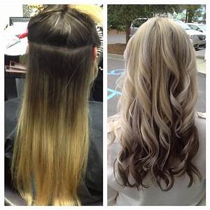 Hair Styles With Blonde O Top Brown On Bottom