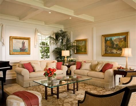 easiest ways to furnish a colonial living room